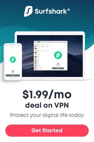 Surfshark VPN - best Firestick protection from prying eyes