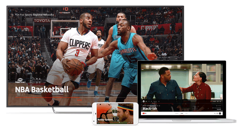 youtube tv devices streaming live iptv channels